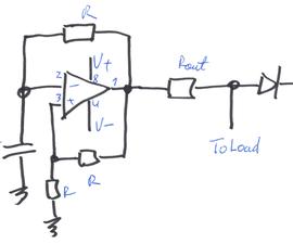 Compact (+/-V) Rectangular Pulse Generator