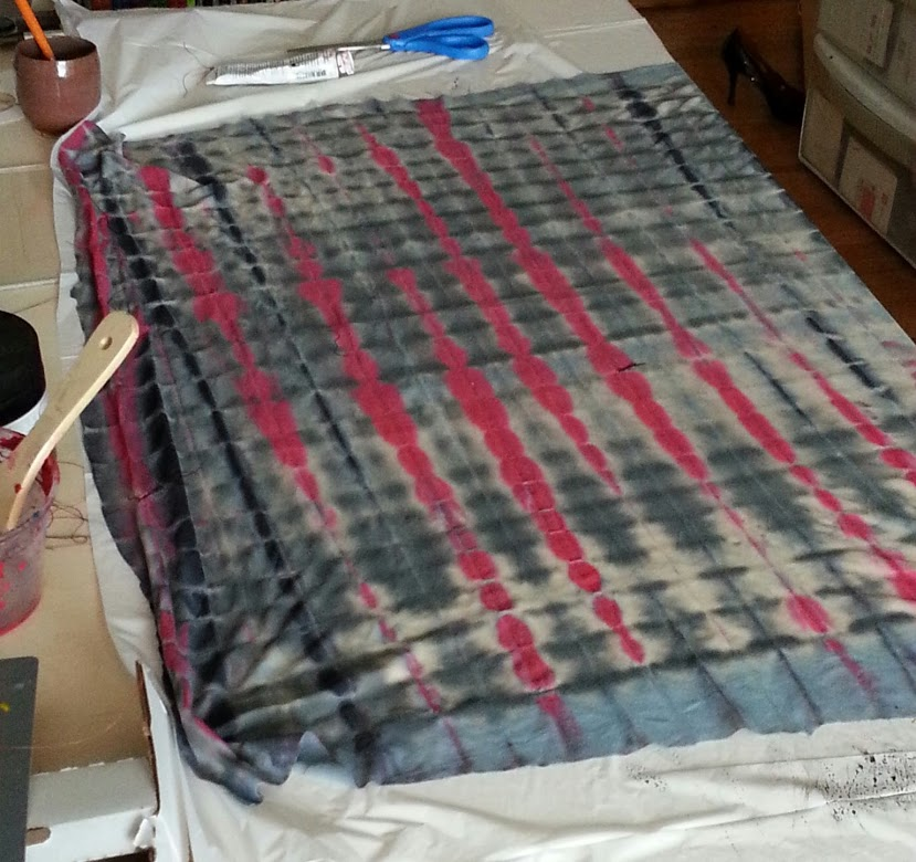 Picture of Hand Dyeing Plaid