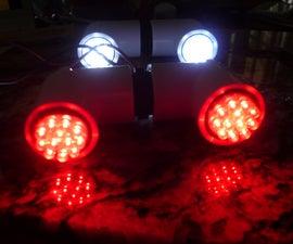 Super Easy Super Bright Ten Minute Green Bike Lights