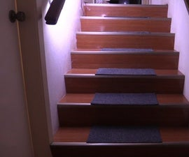 Motion Activated Automatic LED Stair Lighting With Arduino