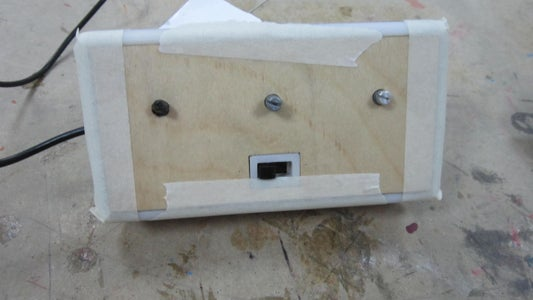 Building the Remote: Attaching the Back and Front Panel, Assembling the Dials and Filing the Potentiometers