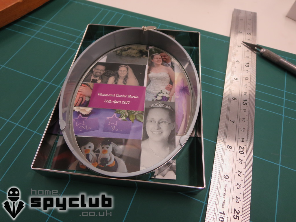 Picture of Laying Our the Pictures