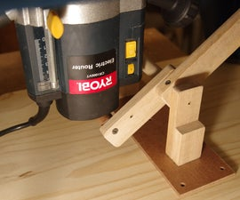 Simple Router Lift