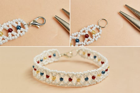 Finish This Seed Beads Bracelet