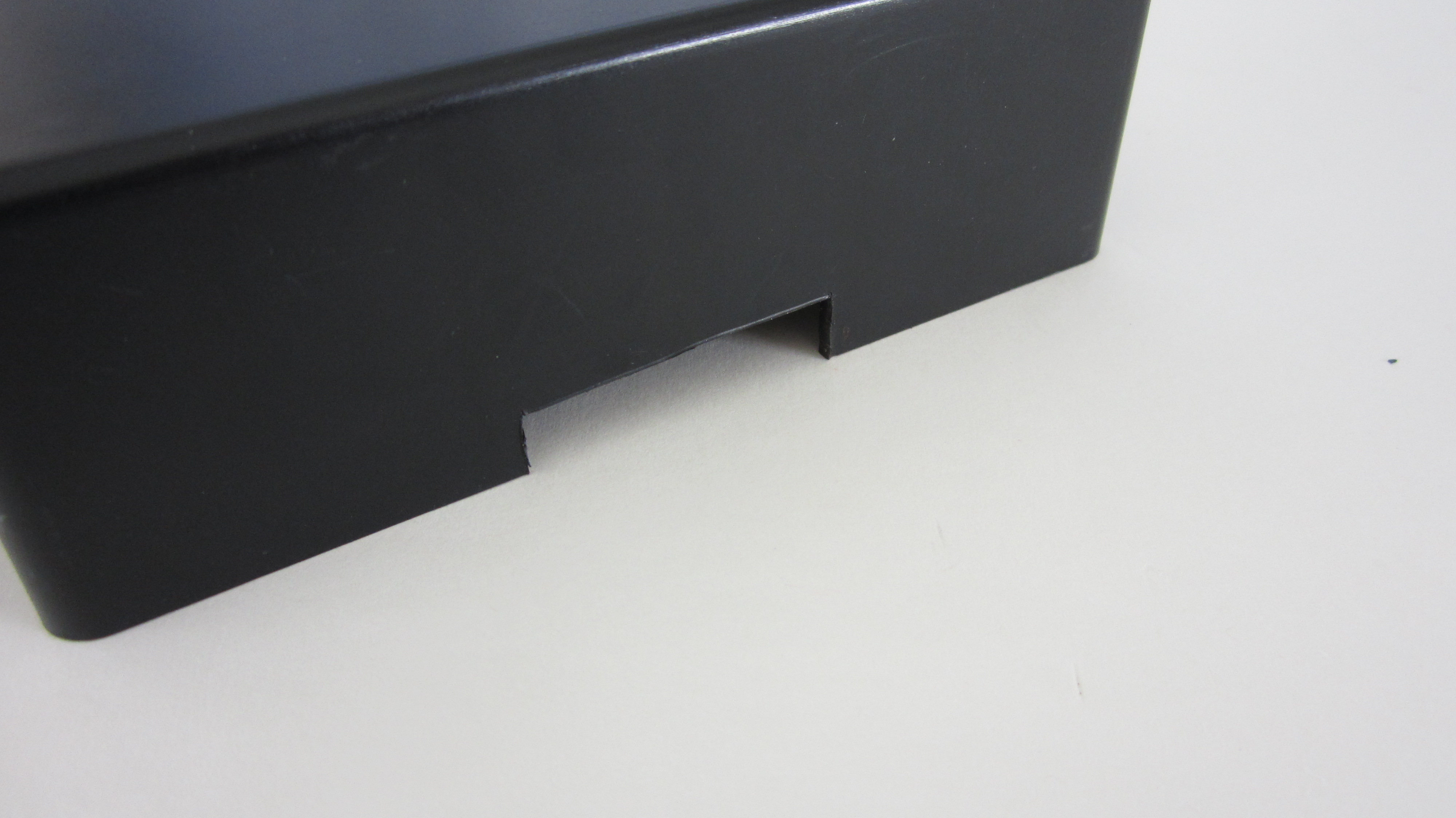 Picture of Cut a Slot in the Housing for Then Female ATX Connector
