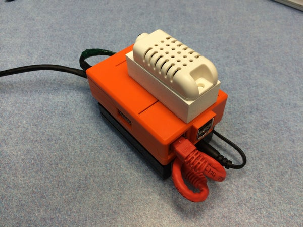 Raspberry Pi Temperature & Humidity Network Monitor