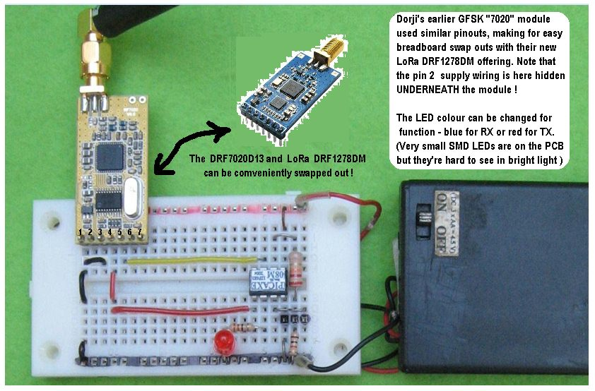 Picture of Breadboard Layout