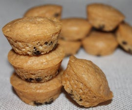 Peanut Butter Chip Mini Muffins