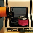 Changing 3D printer filament on the fly/ multicolor prints!