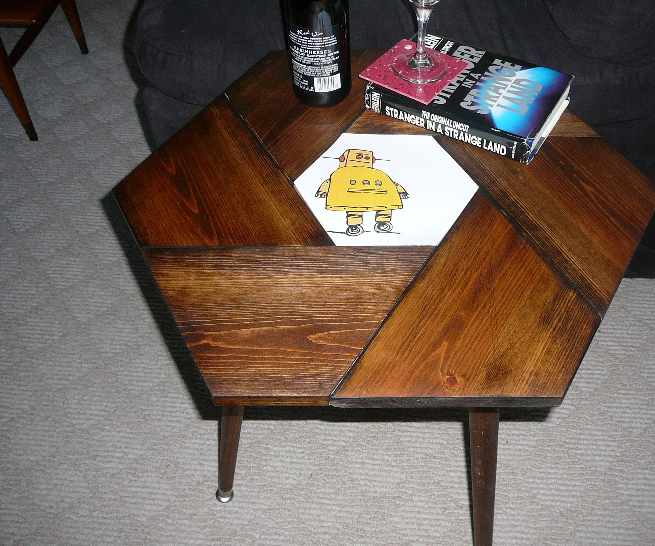 Hexagonal Table (with 6 Options): 5 Steps (with Pictures)