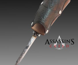 Assassin's Creed Hidden Blade - Functional Prop!!