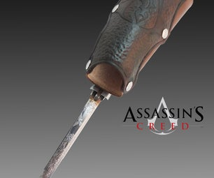 Assassin's Creed Hidden Blade - Functional Prop!!
