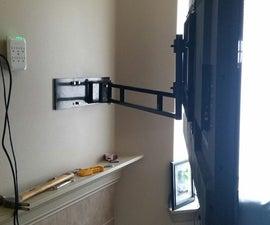 Large Flat Screen Articulating TV Wall Mount