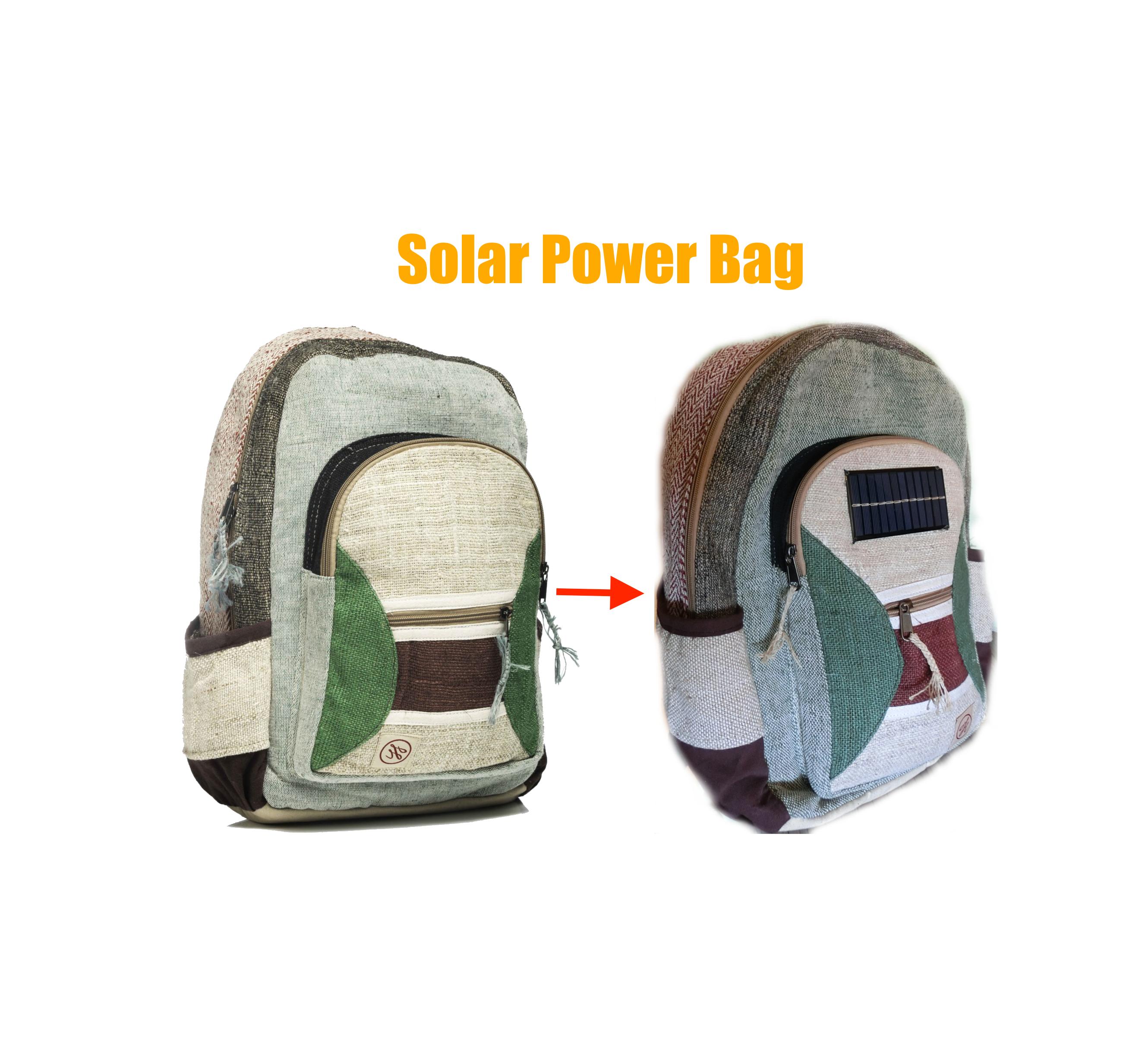 Picture of Placa Solar USB Para Mochila