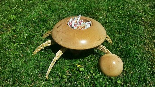 Mars Attacks Martian Saucer Candy Dish
