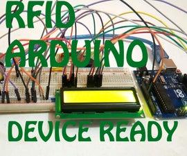 ARDUINO _RFID _LCD (rfid security system)