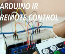 ARDUINO IR REMOTE (USE YOUR OLD REMOTE TO CONTROLL HOME APPLIANCES)
