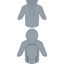 BACKPACK HOODIE....MADE WITH AUTODESK SKETCHPRO 6 (TRIAL) and BETABRAND'S HOODIE TEMPLATE