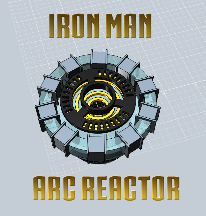 Iron Man Arc Reactor: 3 Steps