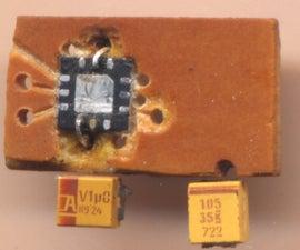 In-line headphone amplifier