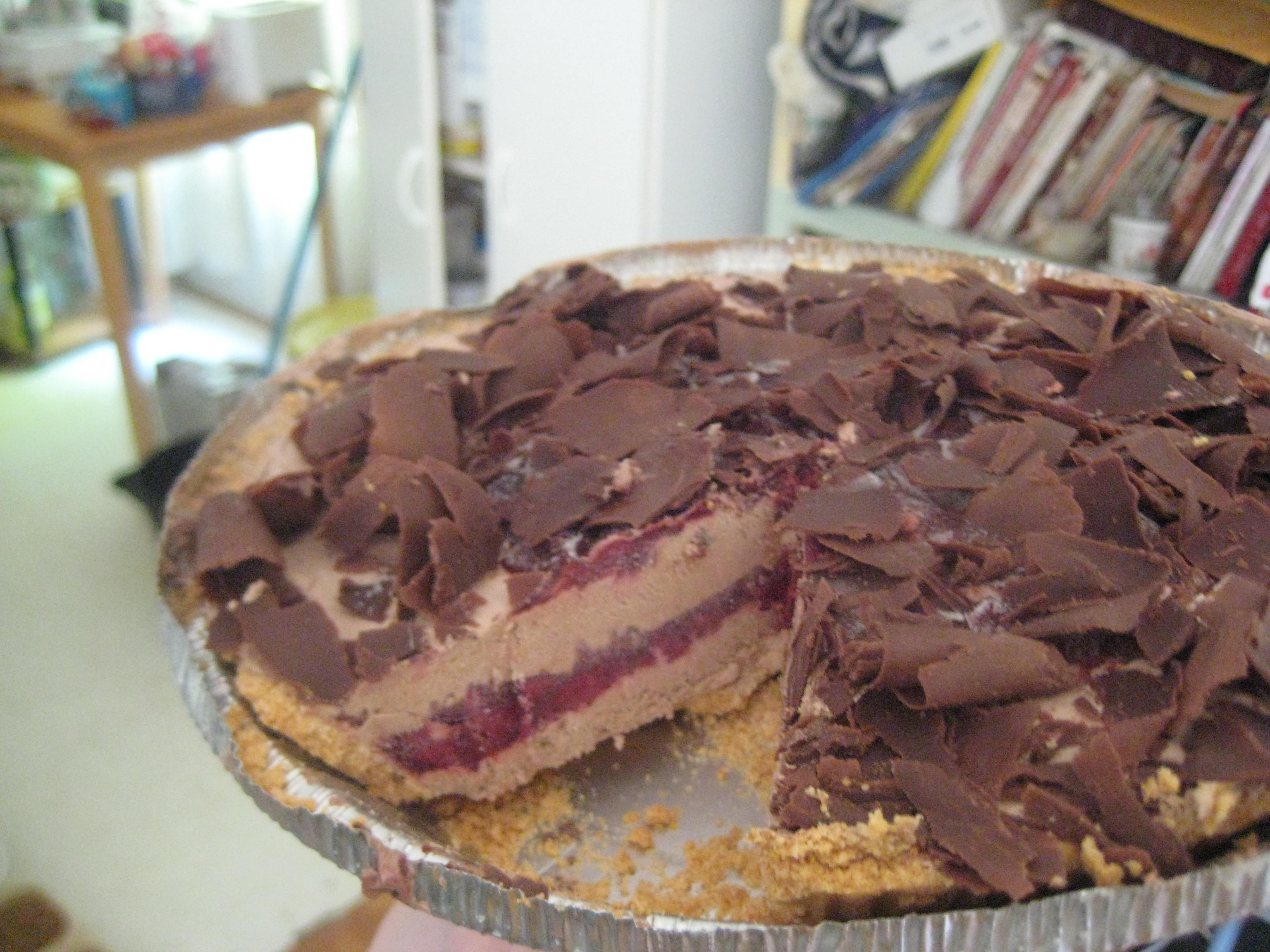 Picture of Chocolate Cherry Pie
