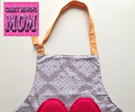 Sided  childrens apron