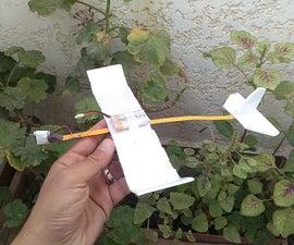 Successful Motorized Foam Plane