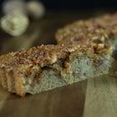 Coffee, Caramel and Walnut Streusel Cake