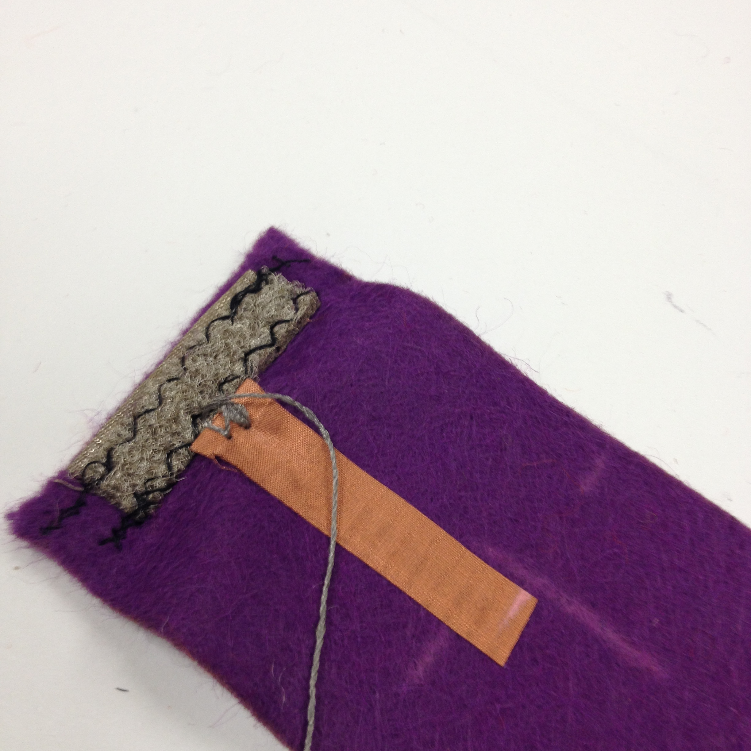 Picture of STEP 3: Joining Conductive Fabric to Velcro