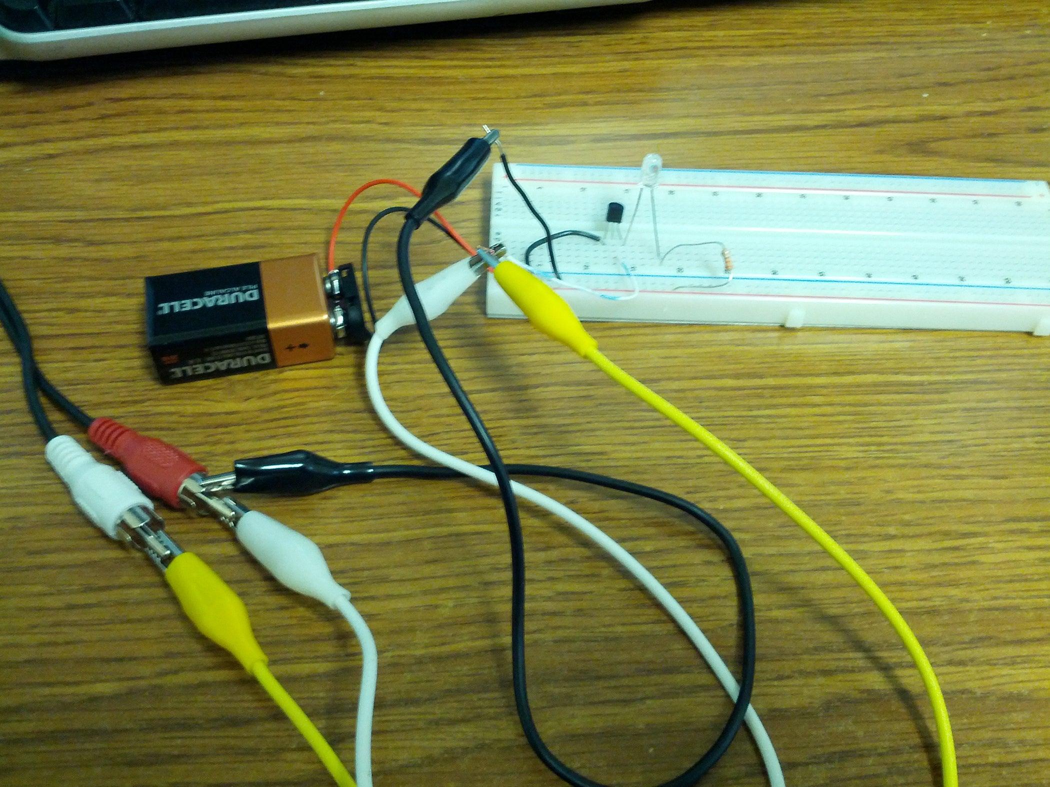 Creating An Audio Reactive Led Circuit 10 Steps Bass Input Jack Wiring