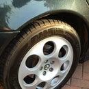 Cómo renovar una llanta de rueda