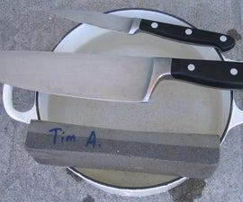 ナイフの研ぎ方のこつ