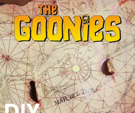 The Goonies: One-Eye'd Willie's Map Replica