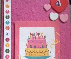 Bargain 4th birthday card