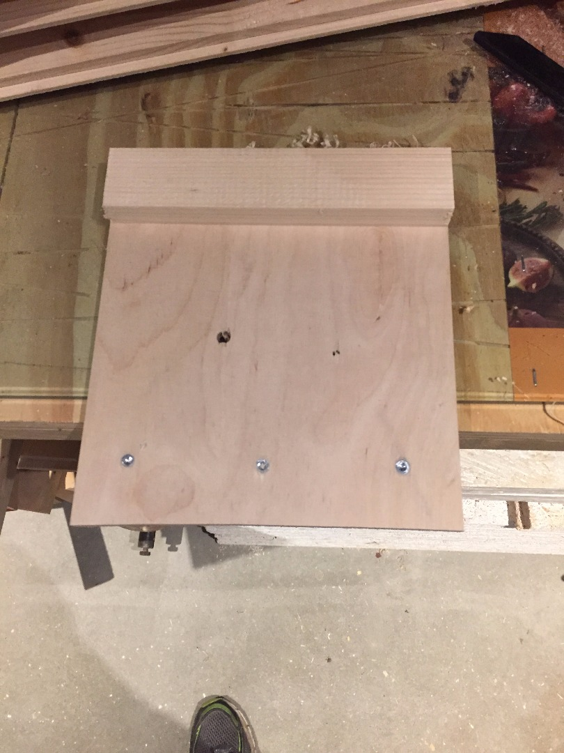 Picture of Add Screws to Join Cross Members and Plywood
