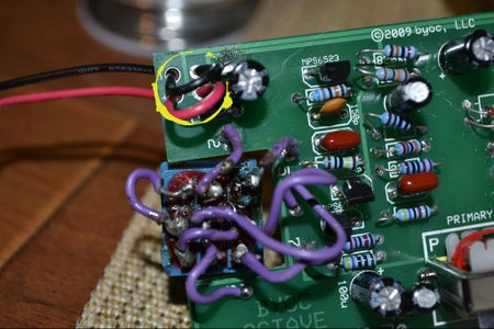 Part a Step 7: Solder the Battery Snap