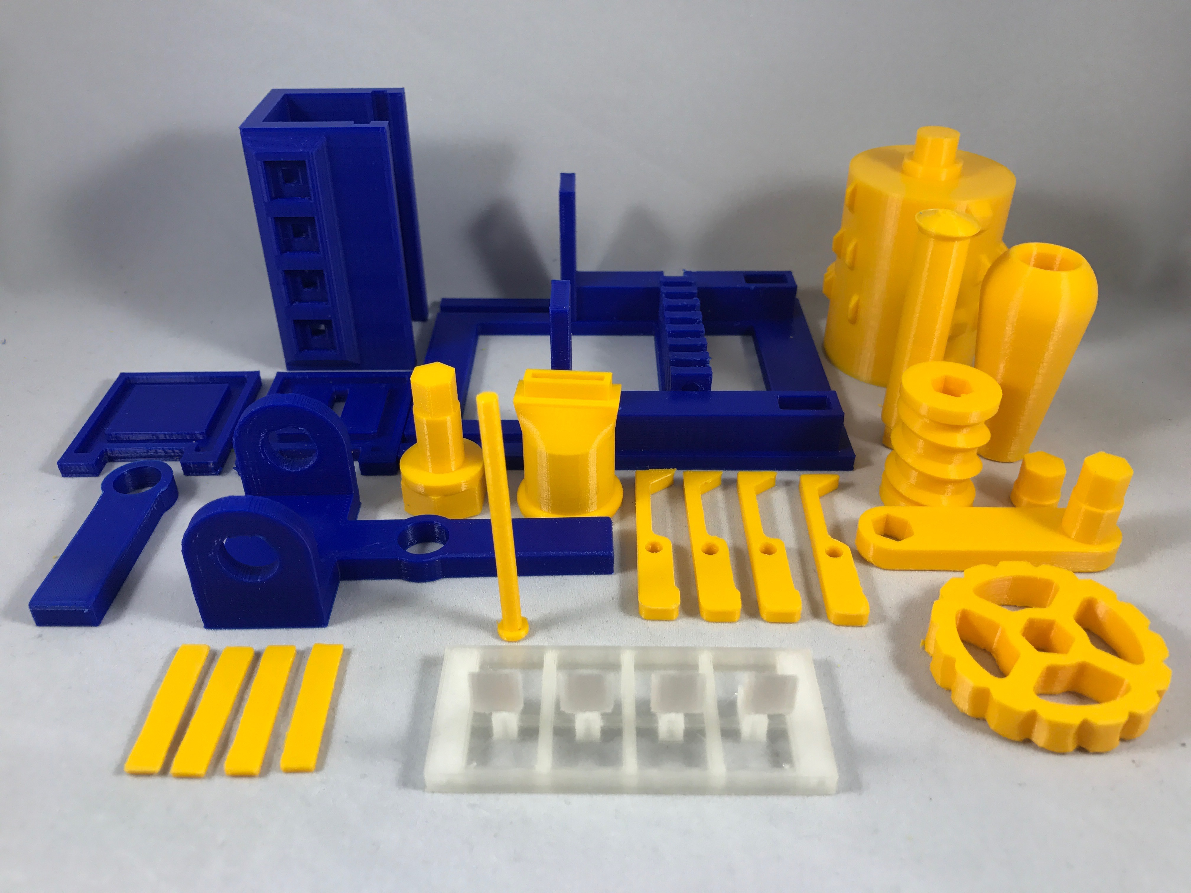 Picture of Purchase, Print and Prepare the Parts.