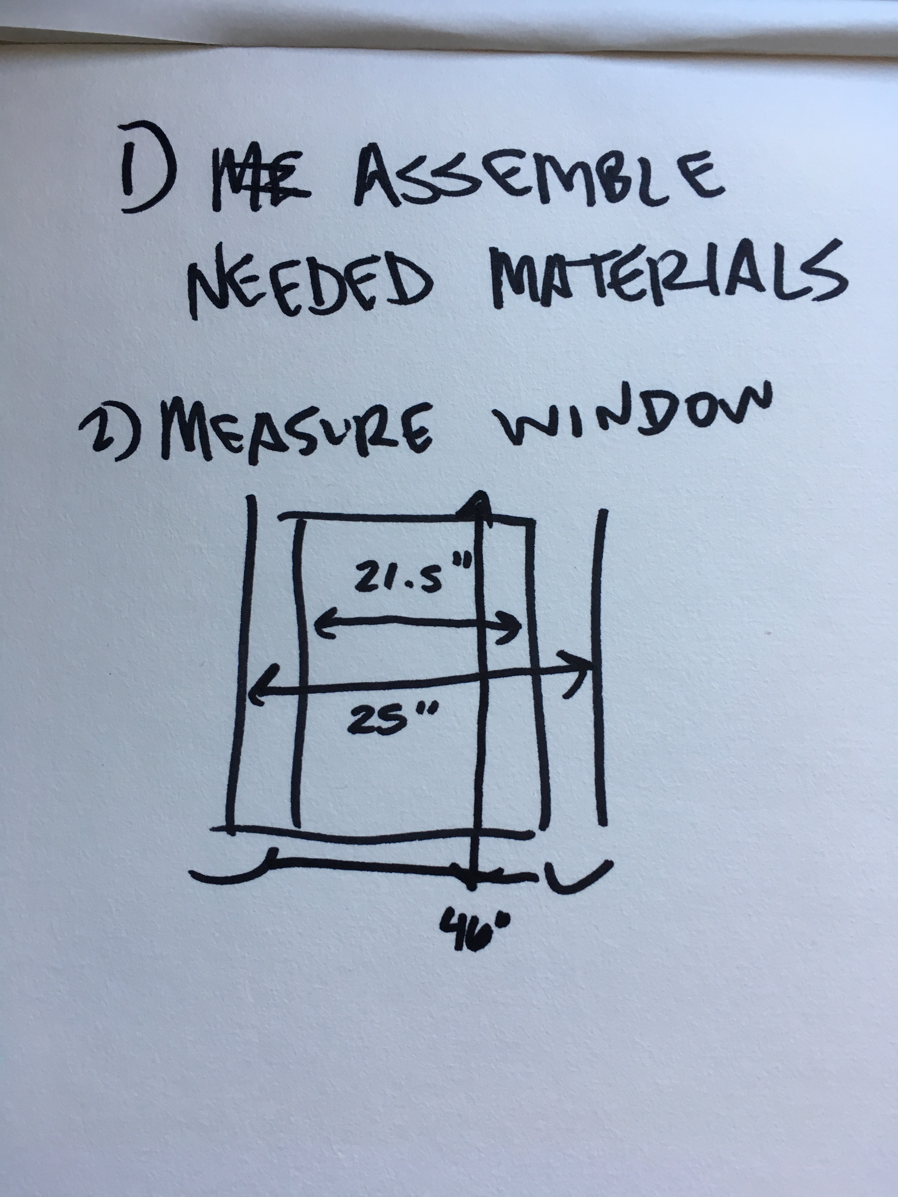 Picture of Measure Your Window