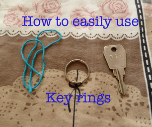 How to Easily Use Key Rings