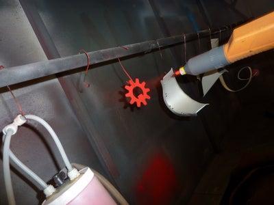 How to Powder-Coat Metal Art Items