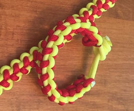 Softball/Baseball Themed Paracord Bracelet