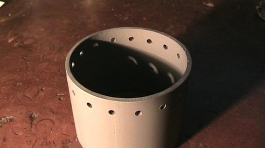 Sewage Pipe Dismountable Casing, E27 Socket, and AC Line Input Protective Stage