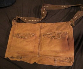 Recycle Your Old Cargo Pants Into a Satchel!