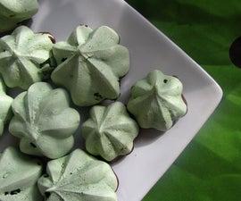 Gorgeous Green Matcha Meringues