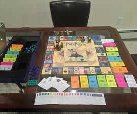 How to Make a Harry Potter Monopoly Board Game