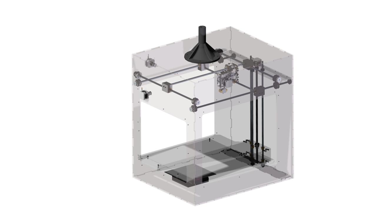 Picture of Laser Cut 3D Printer