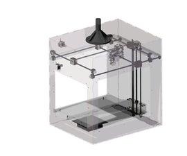 Laser Cut 3D Printer