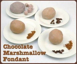 Chocolate Marshmallow Fondant