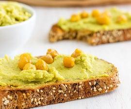 Healthy Creamy Avocado Hummus