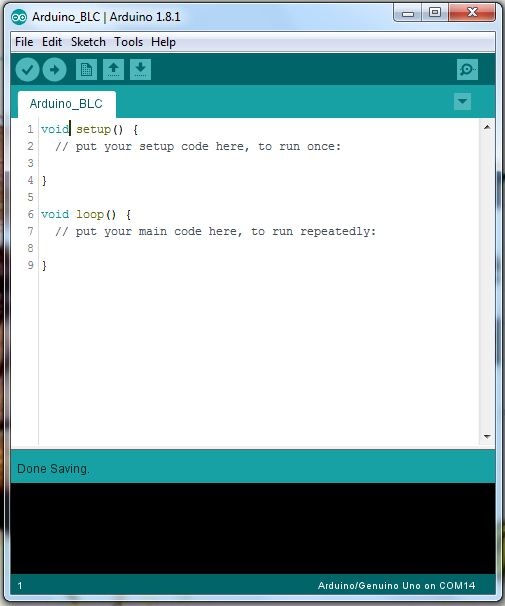 Picture of Arduino Coding and Editing.
